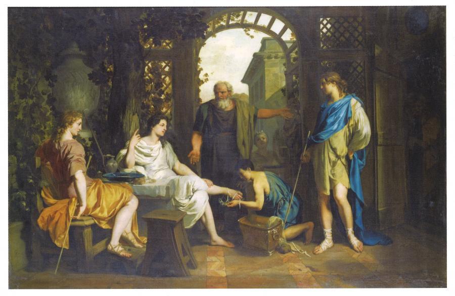 アブラハムを訪ねる主と2人の御使い